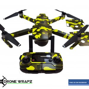 Mavic Fluorescent yellow Camo 1
