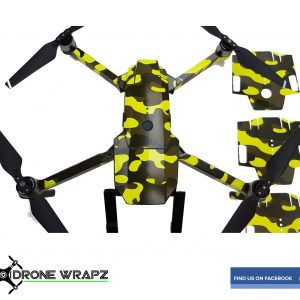 Mavic Fluorescent yellow Camo 2