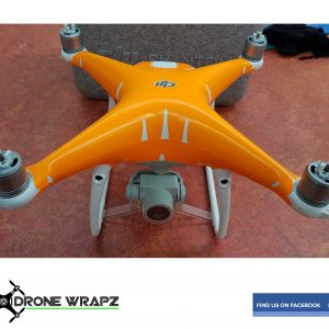 Phantom 4 fluorescent orange