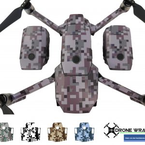 Mavic woodland digital camo